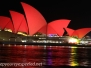 Australia Day Thee Sydney Harbor evening walk February 6 2016