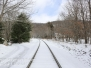 Penrose reservoir and railroad hike March 11 2017